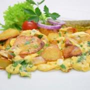 Bauernfrühstück in Omas Küche