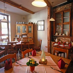 Sitzgruppe in Omas Küche